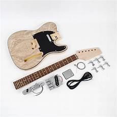 tele guitar kit telecaster style guitar kit ash diy guitars
