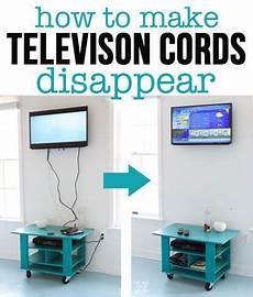 How To Hide Cords On A Wall Mounted Tv With Images Diy