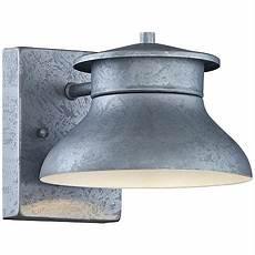 led energy efficient galvanized 5 quot high outdoor wall light 7k633 lsplus com