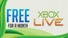 how to get a free xbox live gold account 1 month