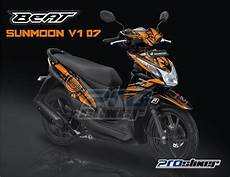 Modifikasi Lu Depan Motor Beat by Motor Rakitan Modifikasi Motor Beat Fi Warna Hitam