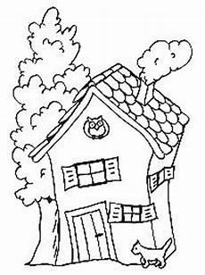 hexenhaus mit katze ausmalbild malvorlage hexen