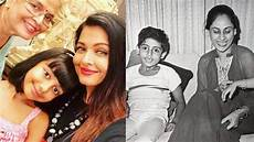 mother s day aishwarya and abhishek bachchan share adorable pictures with their mothers
