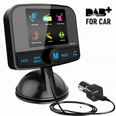 dab wireless bluetooth fm car radio transmitter and