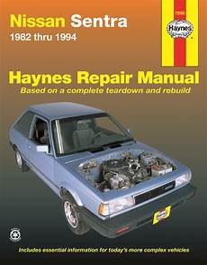 hayes car manuals 2006 nissan sentra engine control nissan sentra haynes repair manual for 1982 thru 1994 covering sedan coupe wagon gasoline