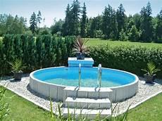 poolgestaltung im garten bildergebnis f 252 r poolgestaltung stahlwandbecken garten