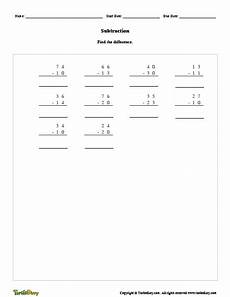 subtraction worksheet creator subtraction worksheet generator turtle diary