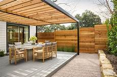 Terrassenuberdachung Holz Garten Terrasse Modern