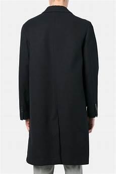 ami alexandre mattiussi half lined two button coat ami