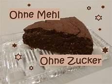 Schokoladenkuchen Ohne Mehl Und Ohne Zucker