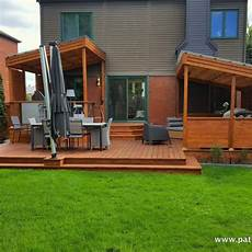 Patio Deck Design Gazebo And Pergola In Montreal By