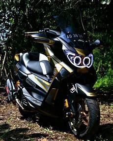Modifikasi Motor Matic Yamaha by Ingin Modifikasi Motor Matic Kamu Bisa Contek 10 Desain Ini