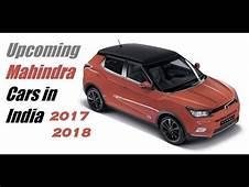 Top 8 Upcoming Mahindra SUV/Cars In India 2018 2019 2020
