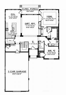 2 bedroom country house plans home plans homepw75811 1 993 square feet 2 bedroom 2