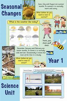 teaching weather ks2 19255 seasonal changes teaching weather science lessons activities for 1 year olds