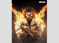 Fortnite x Mortal Kombat! I thought the new Sanctum skin