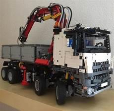 der mercedes arocs ist das beste modell lego technic