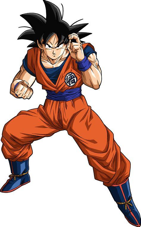 Goku Fighting Stance
