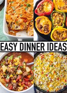 easy dinner ideas best easy dinner recipes