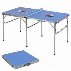60 portable table tennis ping pong folding table w