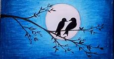 Gambar Lukisan Pemandangan Malam Hari Gambar Pemandangan