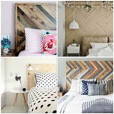 A Wooden Headboard Is Simple And It S Chic