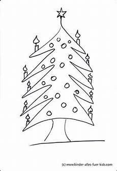 einfache malvorlagen mit weihnachtsb 228 umen ausmalbilder