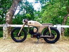 Yamaha L2 Modif Cafe Racer bike feature 70 s yamaha yl2 by 3b customs surigao city