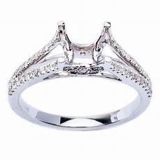 pave wedding ring sets 29ct pave diamond solitaire engagement wedding ring ebay