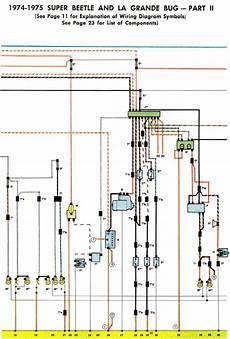 1974 volkswagen beetle wiring 1974 75 beetle wiring diagram thegoldenbug