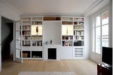 bibliothèque moderne sur mesure bibliotheque sur mesure medium laque blanc contemporain