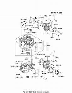 Kawasaki Fx850v Bs08 4 Stroke Engine Fx850v Parts Diagram