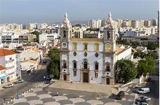 View On Cathedral In Town Of Faro Portugal Editorial