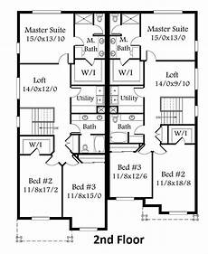 two storey duplex house plans 2nd floor plan duplex house plans duplex floor plans