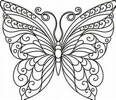 Ausmalbilder Schmetterling Mandala Butterfly Outline Print Butterfly Coloring Page