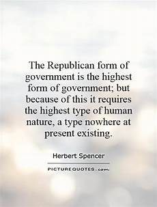 the republican form of government is the highest form of