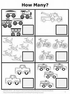 transportation math worksheets preschool 15212 free counting worksheet kindergarten addition worksheet transportation theme transportation