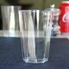 Verres En Plastique Octogonal 25 Cl Vaisselle Jetable
