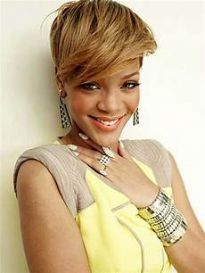 rihanna short blonde hairstyles new rihanna blonde short hair short hairstyles 2018 2019 most popular short hairstyles for
