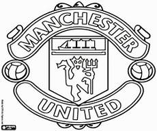 Ausmalbilder Fussball Manchester City Logo Of Manchester United Coloring Page Printable