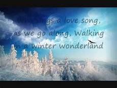 walking in a winter with lyrics