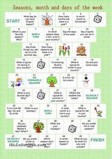 isl german worksheets 19665 board month seasons days of the week lessons seasons