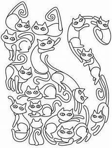 Malvorlagen Tiere Zum Ausdrucken Selber Machen Cat O Cats Image Stickereimuster Katzen Quilt