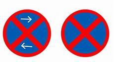 Halte Und Parkverbotsschilder Ein Erkl 228 Rversuch