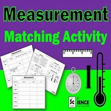 measurement worksheets high school science 1457 measurement matching activity for middle and high school students measurement activities high