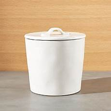 white ceramic kitchen canisters kitchen canisters crate and barrel