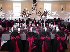 pink black and white wedding ideas for black pink and bling wedding colors weddings