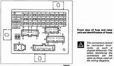 fiat punto fuse box schematic technical raining relays help the fiat forum
