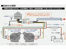 Arena Horn Wiring Diagram by 楽天市場 ミツバ アリーナiiiホーン Mbw 2e23r 用品 Map S