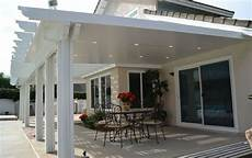 12 22 insulated aluminum patio cover kit w recessed lights multiple sizes ebay